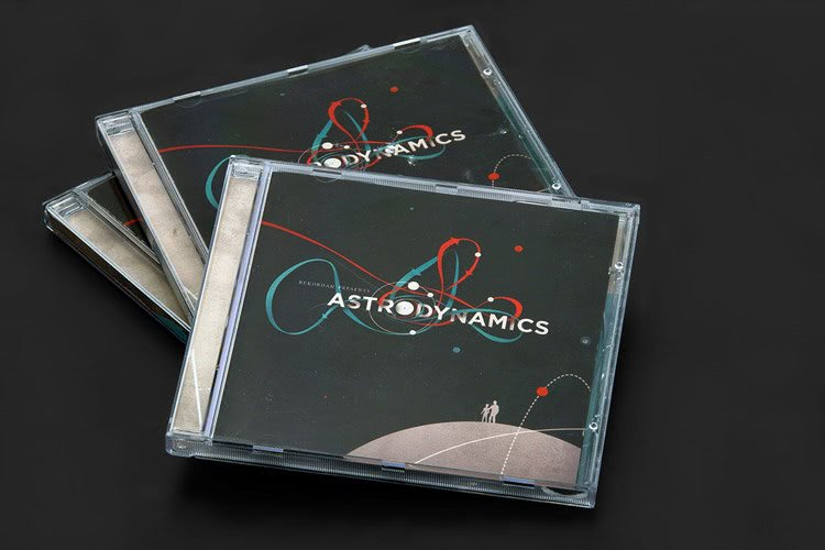 Picture of cover design for Astrodynamics